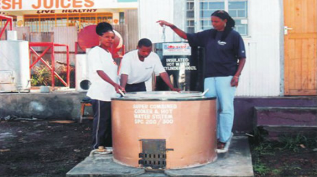 Super Combined Instituitional Stove