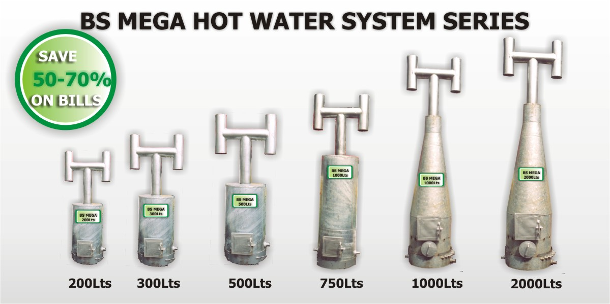 Botto solar established kenyan manufacturer of a for Efficient hot water systems